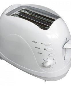 Leivänpaahdin valkoinen 750 W Livia-0