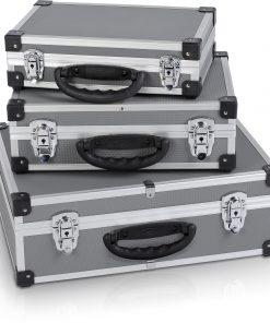 Alumiinilaukku setti 3-os POWERPLUS-0