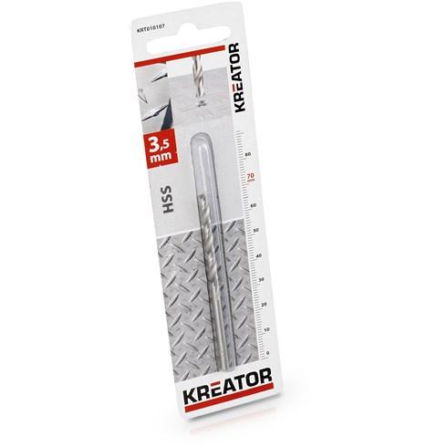 HSS Metalliporanterä 3.5x70 KREATOR-0