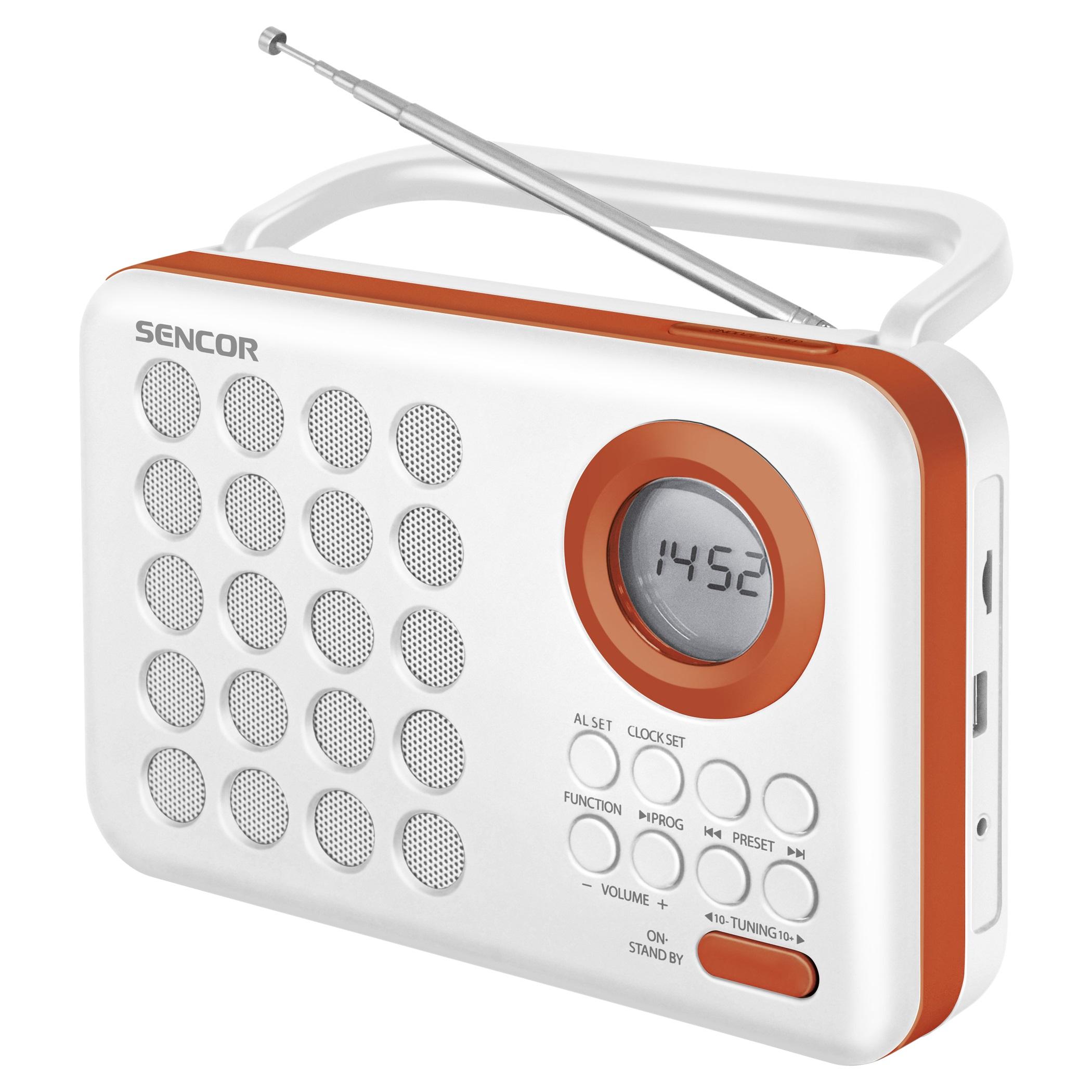 Radio Usb/Sd portti SENCOR SRD 220 WOR-0