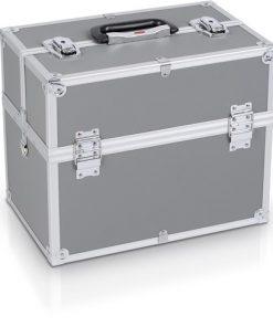 Alumiinilaukku 36X23X30 Harmaa POWERPLUS-0