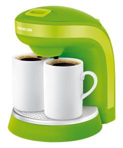 Kahdenkupin kahvinkeitin SCE2002GR-0
