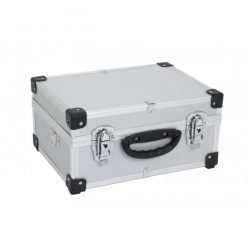 Alumiinilaukku 320x230x155 Hopea POWERPL-0