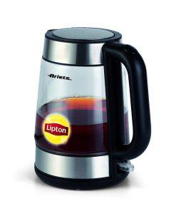 Vedenkeitin lasinen 1,7L Lipton Ariete