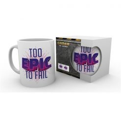 "Gaming ""Too Epic to Fail"" -muki, 300 ml"