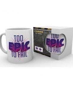 "Gaming ""Too Epic to Fail"" -muki, 300 ml"