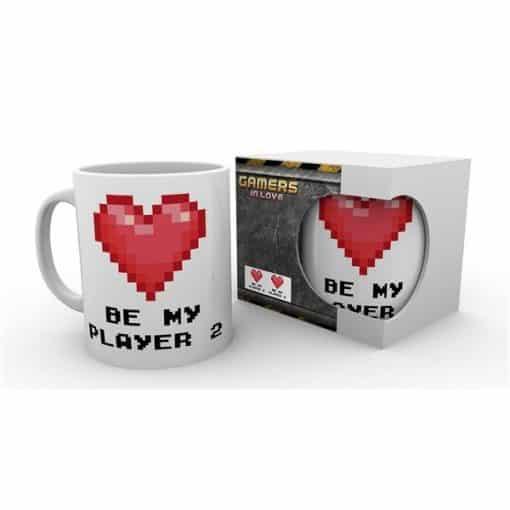 """Valentines """"Be My Player 2"""" -muki, 300 ml"""