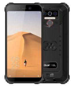 Puhelin WP5 Oukitel Musta/Punainen IP68