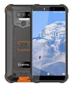 Puhelin WP5 Oukitel Musta/Oranssi IP68